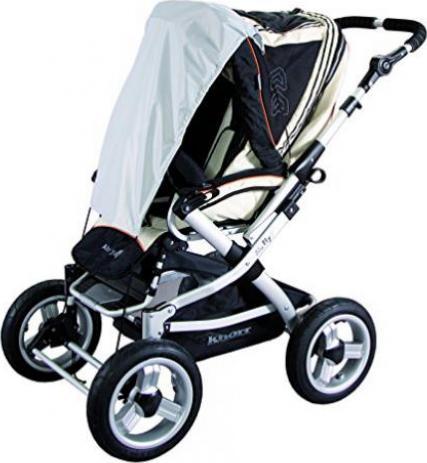 Kissen 100/% Baumwolle perfekt f/ür Kinderwagen und Babybetten 30cm x 40cm Blau Baby Kopfkissen
