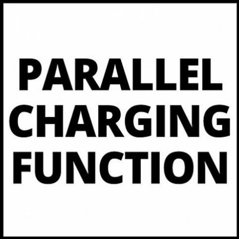 EINHELL Power-X-Twincharger 3A PXC-Ladegerät für 2x 18V Li-Ionen Akkus