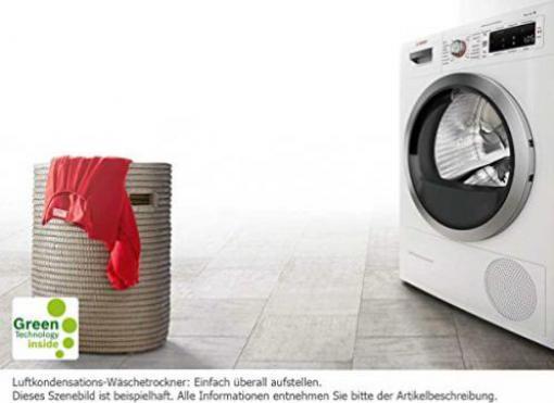 Bosch serie wtw wärmepumpentrockner preisvergleich test