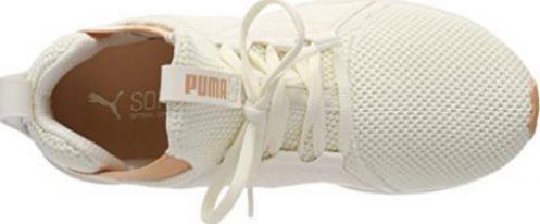 Puma Enzo Weave whisper whitedusty coral (Damen