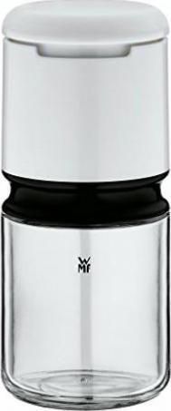 Keramikmahlwerk H 21 cm WMF Elektrische M/ühle Kunststoff wei/ß Salz- und Pfefferm/ühle unbef/üllt