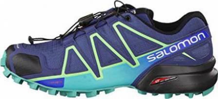 Salomon Speedcross 4 slatebluespa bluefresh green (Damen)