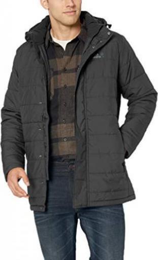 jack wolfskin herren soalbard coat men mantel blck xxxl