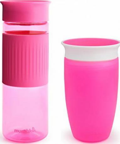Pink Munchkin Miracle 360ᵒ Trinkbecher 296 ml