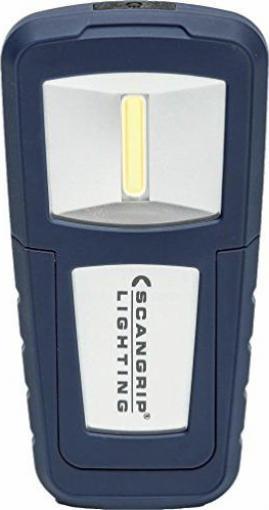 LED Akku Arbeitsleuchte 3,7V//1000 mAh-Li-ion Akku 55//125Lm 2Leuchtst IP20 COB