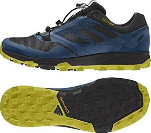 adidas Terrex Trailmaker GTX tech steel/core black/unity lime