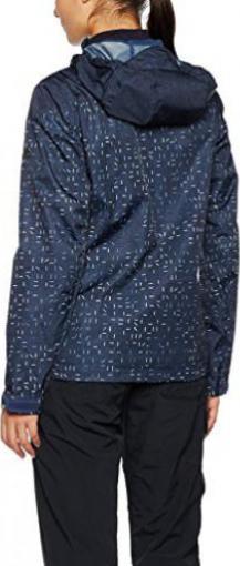 adidas Wandertag Printed Jacke mineral blue Preisvergleich