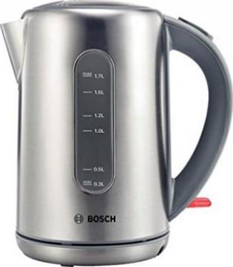 Bosch TWK7801 Edelstahl Wasserkocher 1,7l silber NEU & OVP