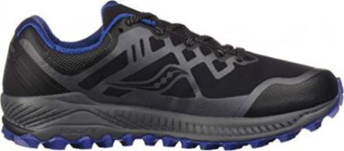 Saucony Herren Peregrine 8 Trail Turnschuhe Laufschuhe Sneaker Schuhe Blau Grau